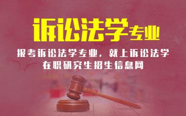 诉讼法学在职研究生